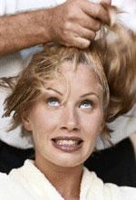 Lhuile du pépin de raisin pour les bouts des cheveu